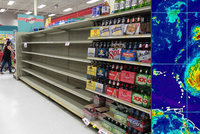 Panika, strach a stav ohrožení v Karibiku. Hurikán Irma zesiluje, chystá se evakuace
