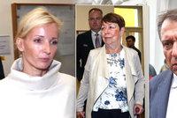 Soud o dítě u Paroubkových: Nejdřív úsměvy, potom výbuch zloby!