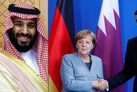 Saúdský princ likviduje opozici, Merkelová jedná o smíru s katarským emírem