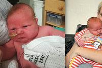 To je ale cvalík! Matka porodila dítě, které váží přes 5,5 kila