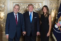 """Dobrá zpráva pro Zemana? Trump ho """"určitě"""" přijme, řekl v Praze kontroverzní exporadce"""