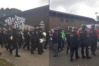 Čeští a rakouští policisté spojili síly. I proti hooligans