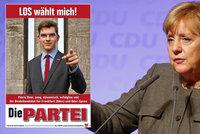 Nečekaný soupeř Merkelové: Slibuje kokain na předpis i alkohol za volantem
