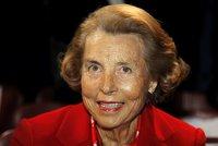 Zemřela nejbohatší žena světa. Dědička L'Oréalu Bettencourtová (†94) měla 863 miliard