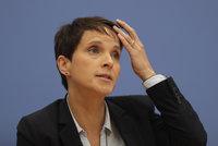 Šéfka AfD Petryová po úspěchu v německých volbách končí. Vystoupí ze strany