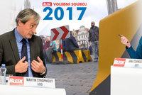 Hrozí teror v Česku? Politici v debatě Blesku ztrhali zátarasy v centru Prahy