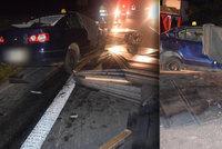 Tragédie mladé rodiny: Rodiče s měsíčním miminkem nepřežili srážku s náklaďákem