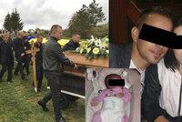 Odhalení na pohřbu Martina, který s rodinou zemřel pod kamionem: Po Aleně zůstal malý syn!