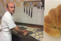 Drahé máslo ničí i tradiční croissanty. Pekař z Nice je chce zachránit