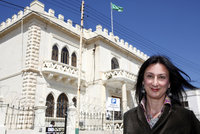 Vražda maltské novinářky (†53): Policie odmítla klíčové svědectví, tvrdí zpravodaj