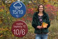 Počasí s Honsovou: O volebním víkendu se ochladí a bude pršet. Bude nejvýš 19 °C