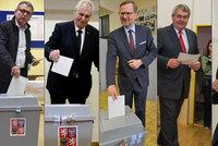 """Volební momenty: Kolaps u uren v Opavě. A Babiš zkusil """"doják"""" na závěr"""