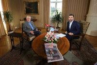 Zeman o volbách exkluzivně pro Blesk: Sledujte, co řekne o Babišovi a vládě
