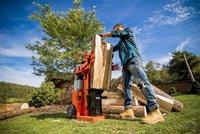 Štípačka dřeva: nastupuje ve chvíli, kdy sekyra nestíhá