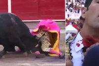 Bojoval do posledního dechu: Býk probodl toreadorovi krk. Nakonec padl