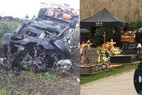 Pohřeb ošetřovatelky Lucie (†36), která zemřela při srážce s českým kamionem: Zůstaly po ní 2 děti