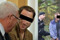 Martin Ch. znovu na místě činu: Zabil školačku, ve vězení změnil image