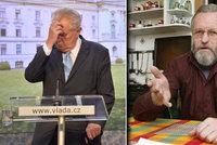 Chartista zahájil kvůli Zemanovi přísnou hladovku. Nechce ho podruhé na Hradě