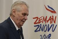 """Zemanův předvolební zázrak: """"Cukrovka odešla. Byl jsem v šoku"""""""