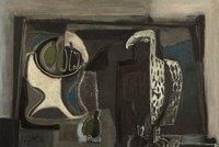 Obraz Emila Filly vydražili v Praze za 11 milionů. Zátiší se sokolem rekord nepřekonalo