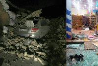 Už přes 300 mrtvých po silném zemětřesení. Nejvíc obětí hlásí Írán