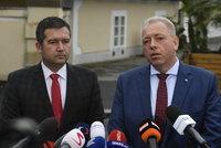 """Chovanec: """"ČSSD bude směšná horákyně."""" Svědomí mu nedovolí podpořit vládu s KSČM za zády"""