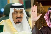 Rivalů se zbavil, teď chce trůn! Saúdský král prý příští týden odstoupí a nechá vládu synovi
