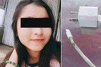 Nešťastná smrt mladé dívky: Zabila ji rozbitá nabíječka iPhonu. Ve spánku!
