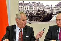 """Zeman posouvá Česko na Východ, tvrdí americký list. """"Hlasuje se i o Rusku"""""""