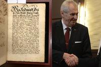 Putin měl darovat Česku unikátní tisk ze 17. století. Experti jedinečnost zpochybňují
