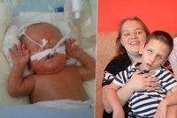 Krutý osud předčasně narozeného Saši (4): Nevidí, neslyší, má 21 diagnóz, rodiče ho milují