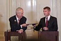 Babiš spěchá na sestavení nové vlády: Chce, aby ji ještě jmenoval Zeman