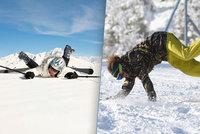 Úraz na lyžích vás může přijít až na milion: Velký přehled pojištění na hory
