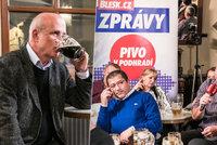 """Horáček u piva """"dostal"""" servírku: Jsem energický a nebudu se s nimi párat"""