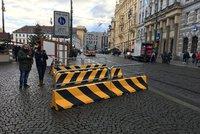 Praha proti teroristům: Město v případě ohrožení nainstaluje zábrany na osmi místech v centru
