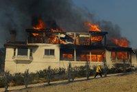 Požáry v Kalifornii sežehly i vilu miliardáře Murdocha. Stála stovky milionů