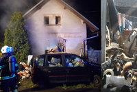 Sousedé o majitelu domu, kde uhořela psí smečka: Vyhrožoval nám smrtí! V domě měl zbraně