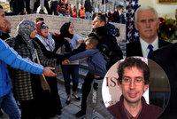 Čech v Jeruzalémě: Radikálové chtějí povstání, násilí spustí i modlitba