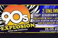 Report z 90s Explosion Open Air Festival 2018: Eurodance megamix pro pamětníky i novou generaci