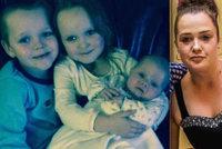 Při žhářském útoku zahynuly tři děti: Zraněné matce to neřekli