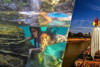 Amazonky, jak je neznáte! Fotograf zachytil nejizolovanější domorodce brazilských pralesů