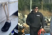 Surfař na pláži našel lidskou nohu! Je to již třináctá končetina, kterou na břeh vyplavilo moře