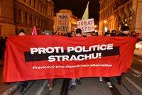 Okamura pozval do Česka protiuprchlické strany. Lidé demonstrují