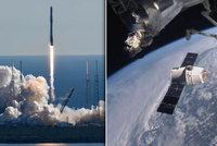 Vesmírná loď Dragon je u ISS: Kosmonautům přivezla živé myši i vánoční dárky