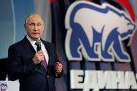 Putina v boji o Kreml podpořilo i Jednotné Rusko. Sjezd promluvil jasně