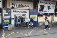 Alza.cz má masivní výpadek. E-shop nemůže přijímat ani vydávat objednávky