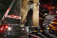 Nejméně 12 lidí, včetně kojence, zemřelo při požáru bytu v Bronxu! Oheň pravděpodobně založilo dítě