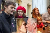Miminko, smrt syna i Kennedyové na svatbě: Co prozradili ze soukromí hradní kandidáti?