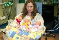 Tři sestry jsou na světě: V Plzni se narodila trojčátka!