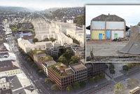 Demolice na Smíchově! Začali bourat opuštěné nádražní budovy, na volném místě vznikne nová čtvrť